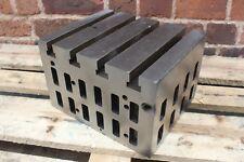 309mm x 256mm x 201mm Cast Iron CI Cube Drilling Milling CNC Tool (AP49)