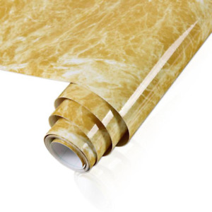 Waterproof Oil-proof Marble Wallpaper Contact Paper Wall Stickers PVC Self Adhes