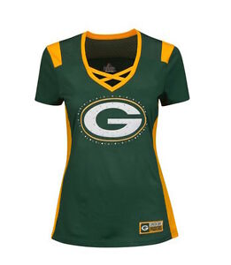 NFL Green Bay Packers Majestic 2016 Draft Me Fashion Top - Women's T-Shirt