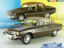 ROVER P6 3500 V8 MODEL CAR BRASILIA BROWN 1:43 SCALE VANGUARDS VA06519 SALOON K8