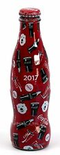 NEW World of Coca Cola Store 2017 Coke Polar Bear Wrapped 8 oz GLASS Bottle