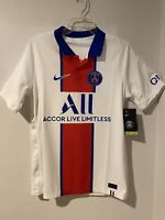 Nike PSG Paris Saint-Germain Vaporknit Match Away 2020-21 Jersey CD4188-101 L