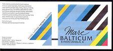 Litauen 1992 postfrisch Markenheft MiNr. 1 mit Balkenzähler