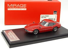 HPI Mirage 1/43 - TOYOTA 2000 GT  SOLAR RED
