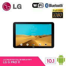 "LG GPad2 V940 32Gb Wi-Fi Tablet PC 10.1"" Full HD Android 5.1 Ram 2Gb 487g Black"