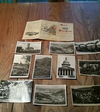 VINTAGE WORLD WAR 2 Lot of 10 Postcards. WWII.  Flyers. US Airforce. (A6)