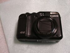 Very Nice Canon Powershot G12 10MP Digital Camera