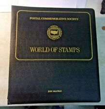 VINTAGE Postal Commemorative Society WORLD OF STAMPS - 48 pages (list below)