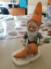 "Goebel  Hummel Gnome - 1970 (#501)  RARE - Robby - ""THE VEGETARIAN""  Carrot"