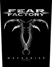 FEAR FACTORY - Rückenaufnäher Backpatch Mechanize