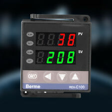 100-240V Digital PID Temperature Controller Thermostat REX-C100 Thermocouple el