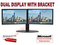 "Cheap Gaming Dual Monitor 17"" 19"" 22"" WideScreen COMPUTER PC LAPTOP VGA DVI"
