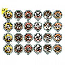 Crazy Cups Decaf Flavored Lovers Single Serve Cups for Keurig K Cups Brewer, 24