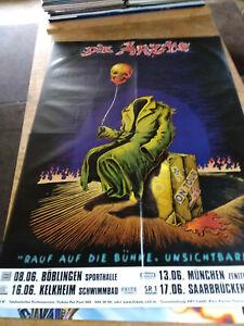 ✿ DIE  ÄRZTE  ✿ XXL Original Concert Poster  168 x 120 cm