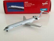 AVIATIONMODELSHOP Herpa Wings 1:500 American Eagle Bombardier CRJ-900 N242LR Neu