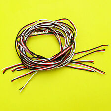 10 x 1M Servo Wire 26AWG Cable For Futaba-JR 3 Wire Flat Cable