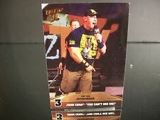 """John Cena Topps 2013 Card #3 Top Ten Catchphrases """"You Can't See Me!"""""""