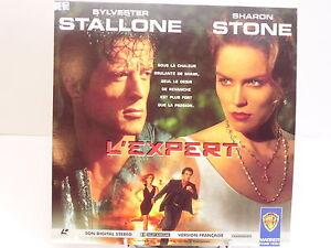 LASERDISC - L'EXPERT / SYLVESTER STALLONE SHARON STONE