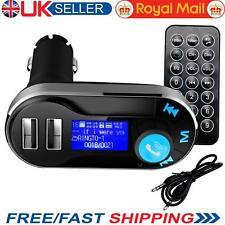 Wireless Bluetooth LCD USB FM Transmitter Car Charger Kit Radio MP3 Music Player