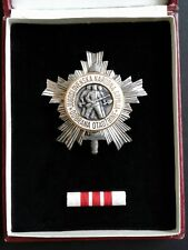 Yugoslavia: 'Order of the People's Army with Silver Star - 3rd Class' (1951-61).
