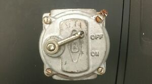 Vintage Britmac industrial light switch