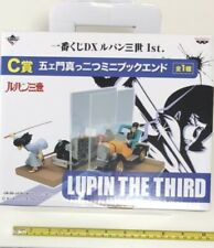 Lupin the 3rd ichiban kuji limited mini bookend figure car split goemon anime
