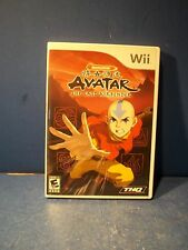 Wii AVATAR - THE LAST AIRBENDER - COMPLETE