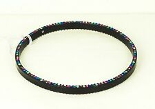 KATE SPADE Delicate Black Enamel Plated Multi-Color Crystal Bangle Bracelet