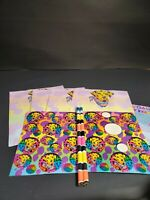 Vintage Lisa Frank Dalmatian Dog Stationery And Stickers