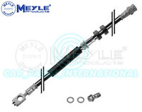 Meyle Germany Brake Hose with seal and hollow screw, Front Axle, 100 525 0061/S