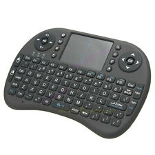 Cordless Keyboard 2.4G with Touchpad Wireless Keypad for PC Android Tablet