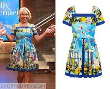 DOLCE & GABBANA Printed Cotton Dress IT46 UK12-14 new