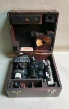 Vintage Air Forces US Army Corps WWII Fairchild A-10 Sextant in Wood Case #3378