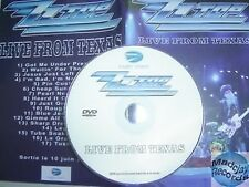 ZZ TOP LIVE FROM TEXAS france PROMO DVD