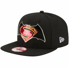 NEW ERA 9Fifty Original Fit Cap Title Chrome Batman Superman Dawn o Justice SALE