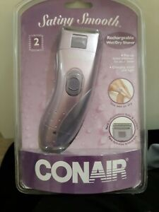 Conair LWD375WCSV Cordless Rechargeable  Women's Electric Shaver
