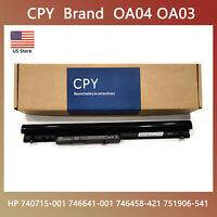 CPY 746641-001 Laptop Battery For HP OA03 OA04 740715-001 746458-421 14.8V 41Wh