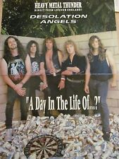 Desolation Angels, Two Page Pinup Poster