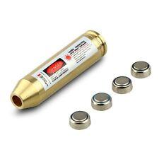 USA 308 Caliber Cartridge Rifle Brass Red Laser Boresighter Bore Sighter Kit