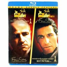 The godfather 1 & godfather part 2 double feature bluray Dvd's New sealed gf2