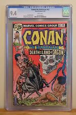CONAN #62  CGC 9.4 - WHITE PAGES