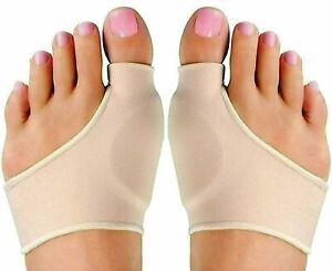 1 Pair Bunion Splint Big Toe Straightener Corrector Hallux Valgus Pain Relief US