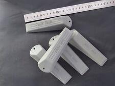 5x Rubber Door Wedges / Door Stop Wedge Grey . Free P+P