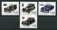 Luxembourg 2017 MNH Cars of Yesteryear Pt 4 Packard Rolls Royce 4v Set Stamps
