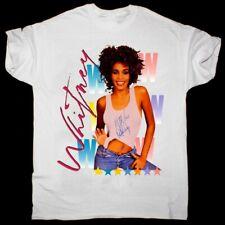 Whitney Houston T-Shirt Tee Reprint 100% Cotton Size S-3XL