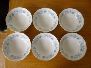 6 Colclough Braganza Bowls