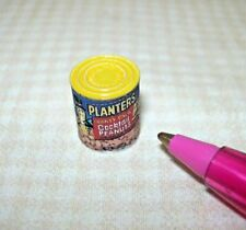 Miniature Cocktail Peanuts Can (Brand) for DOLLHOUSE Miniatures 1/12 Scale