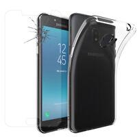 Coque Silicone Gel UltraSlim Film Verre Samsung Galaxy J2 Pro (2018) SM-J250F