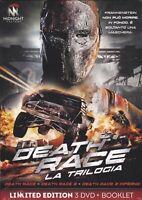 3 Dvd Box cofanetto DEATH RACE 1 + 2 +3 la trilogia completa nuovo sigillato