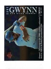 1995 UPPER DECK TONY GWYNN CHECKLIST #2 INSERT UD HOF 2B HALL FAME CHECKLISTS